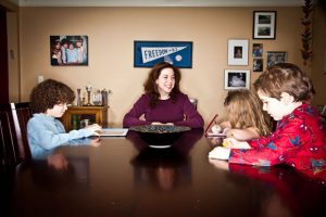 This picture was taken a few years ago for a story about me as a Mompreneur - featured with 3 of my kiddos.