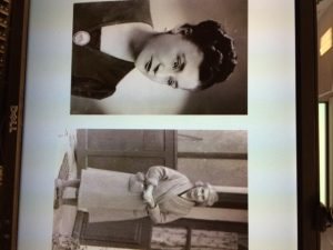 The two women who saved Rene Lichtman - a neighbor in Paris who hid his mother (left) and his French mother (right) who hid him during the Holocaust.