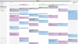 There's something wrong when my weeks are this busy, right?