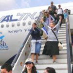 religious Jews making aliyah to live in Israel - photo from www.unitedwithisrael.org