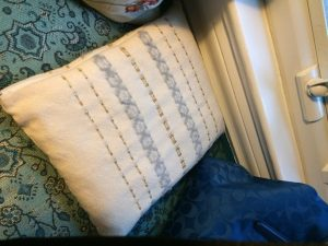 my grandfather's tallit, soon to belong to my son