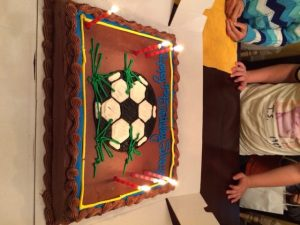 regular cake, beautifully crafted