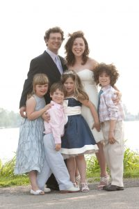 our beautiful blended family