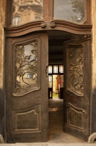 What would happen if we walked through an unfamiliar open door? How would our lives change?