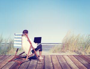 Vacation = No Work