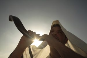 The shofar wakes us up, shakes off our malaise.