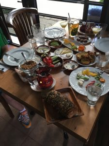 This morning's Israeli breakfast