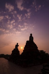 Buddha Image at Ayuthaya, Thailand