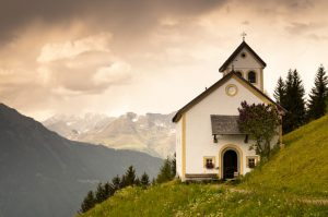 Was there a church before we could create one in our minds?